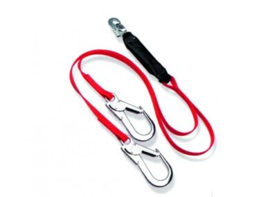 TWIN SHOCK-ABSORBING LANYARD – 2 M