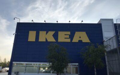 Fallsikring med wiresystemer på Ikea Oslo Furuset