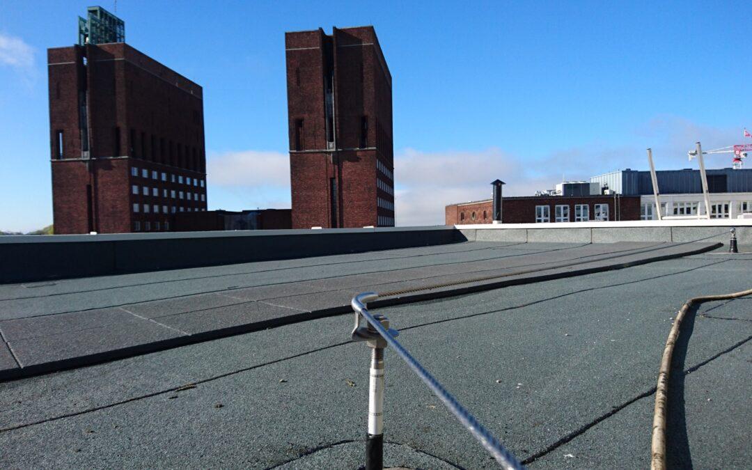 Fallsikring på tak Eiendom-spar Storbråten